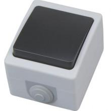 ATOM выключатель накладной одноклавишный
