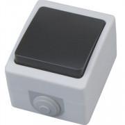 ATOM выключатель накладной одноклавишный проходной