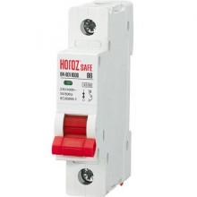 SAFE автоматический выключатель В 6А 1Р