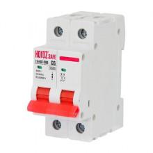 SAFE автоматический выключатель C 6А 2Р