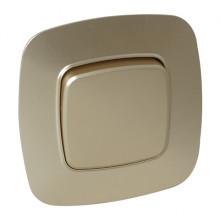ELA выключатель 1-клавишный золото