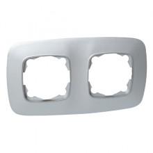 ELA рамка 2-ная серебро