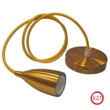 EDISON светильник подвесной золотой