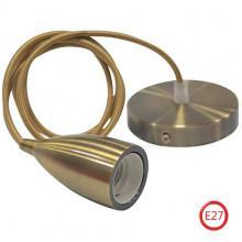EDISON светильник подвесной бронзовый