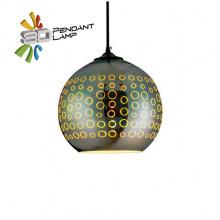 RADIAN светильник подвесной 3D круглый