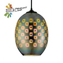 SPECTRUM светильник подвесной 3D овал