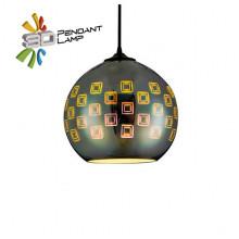 SPECTRUM светильник подвесной 3D круглый