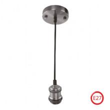 TESLA светильник подвесной хром