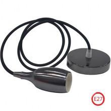 WEBER светильник подвесной перламутровый черный