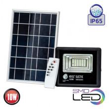TIGER-10 прожектор светодиодный с солнечной панелью
