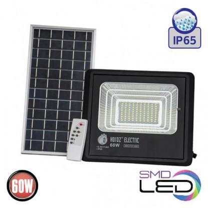 TIGER-60 прожектор светодиодный с солнечной панелью