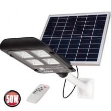 LAGUNA-50 консольный светильник с солнечной панелью