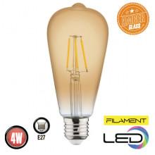 Филаментная лампа 4W E27 RUSTIC VINTAGE-4 (001 029 0004)