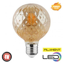 RUSTIC TWIST-4 филаментная лампа