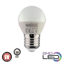 Светодиодная лампа 6W E27 ELITE-6 (001 005 0006)