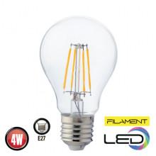 Филаментная лампа 4W E27 FILAMENT GLOBE-4 (001 015 0004)