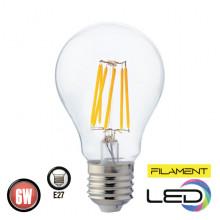 Филаментная лампа 6W E27 FILAMENT GLOBE-6 (001 015 0006)