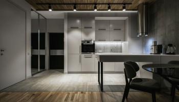 Трековые светильники для кухни