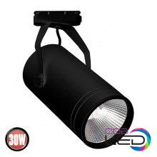 BERN 30W трековый светильник черный