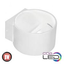 SISAM настенный светодиодный светильник белый