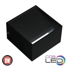 TRUVA настенный светодиодный светильник черный